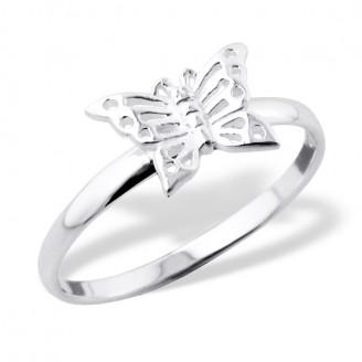 """Stříbrný prsten """"Motýl"""". Ag 925/1000"""